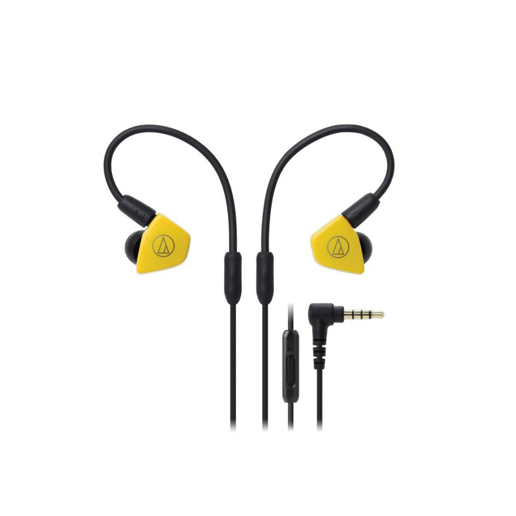 Audio-Technica  ATH-LS50ISYL Ecouteurs intra-auriculaires - jaune