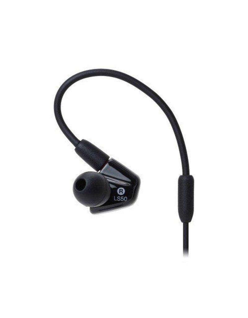 Audio-Technica  ATH-LS50ISYL In-Ear Headphones - Yellow