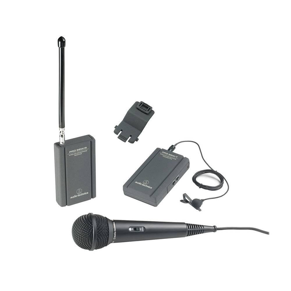 Audio-Technica Consumer ATR288W VHF TwinMic System