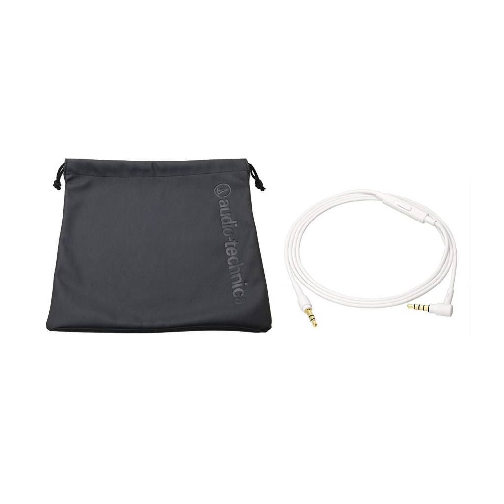 Audio-Technica ATH-SR5WH On-Ear High-Resolution Audio Headphones - White