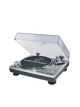 Audio-Technica AT-LP120-USB Direct Drive Professional Turntable with USB - Silver