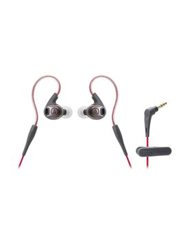 Audio-Technica ATHSPORT3RD Écouteurs intra-auriculaires SonicSport -Rouge
