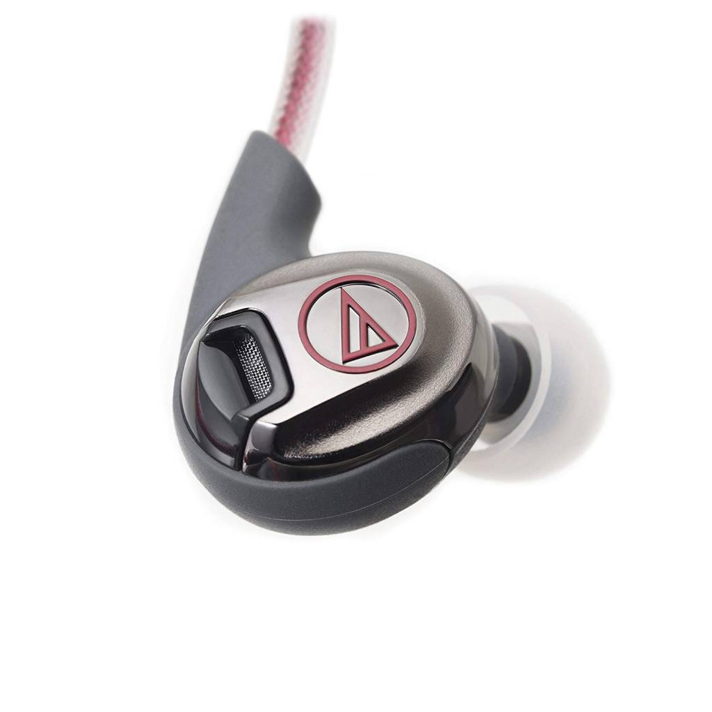 Audio-Technica ATHSPORT3RD SONIC SPORT IN-EAR HEADPHONES RED