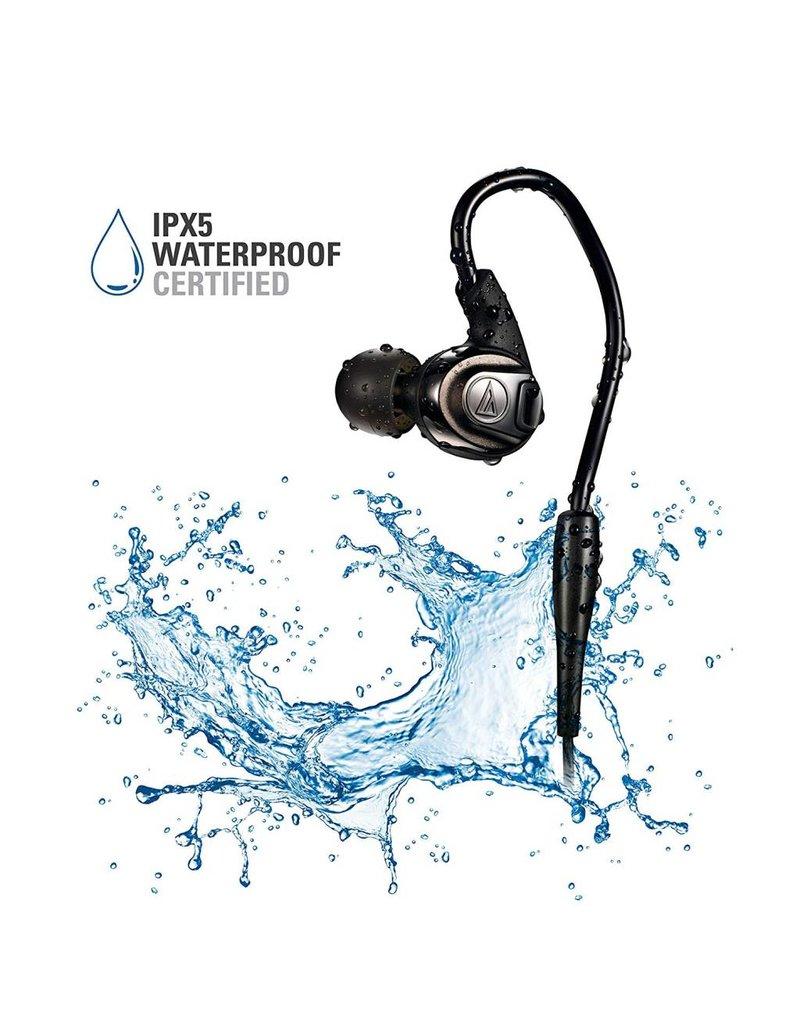 Audio-Technica ATHSPORT3RD Écouteurs intra-auriculaires SonicSport -Rouge