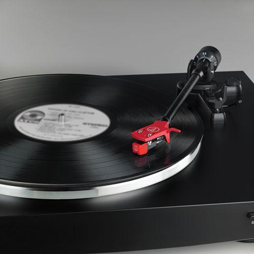 Audio-Technica  AT-LP3BK-Platine stéréo à entraînement par courroie entièrement automatique-Noir