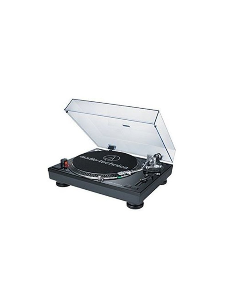 Audio-Technica AT-LP120BK-USB Direct Drive Professional Turntable with USB - Black
