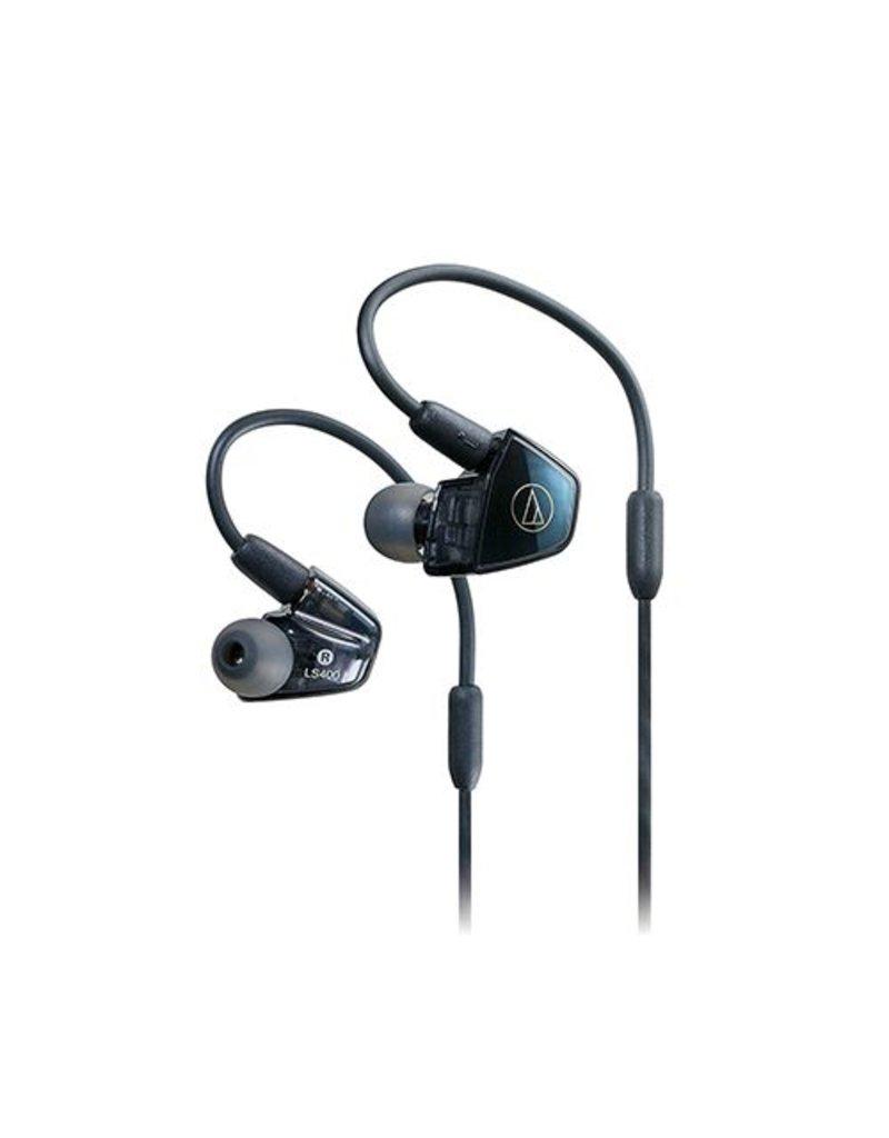 Audio-Technica ATH-LS400iS In-Ear Headphones - Blue/black