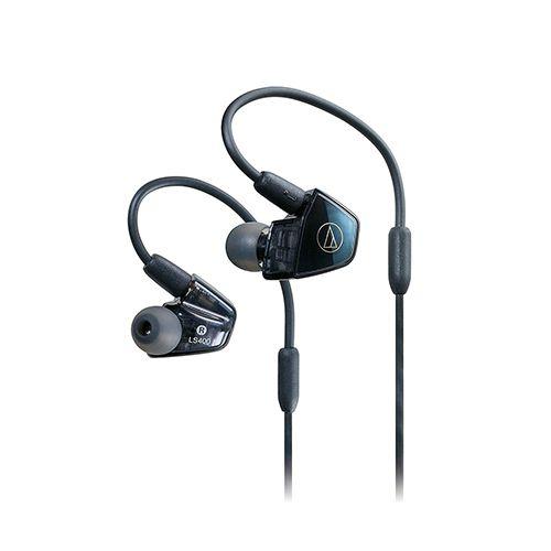 Audio-Technica  ATH-LS400iS Ecouteurs intra-auriculaires -Bleu/Noir