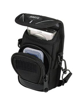 Roots RSW1 Executive Small Digital Camera Pouch - Black