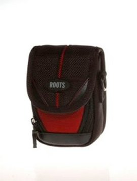 Roots Executive Small Digital Camera Pouch - Red