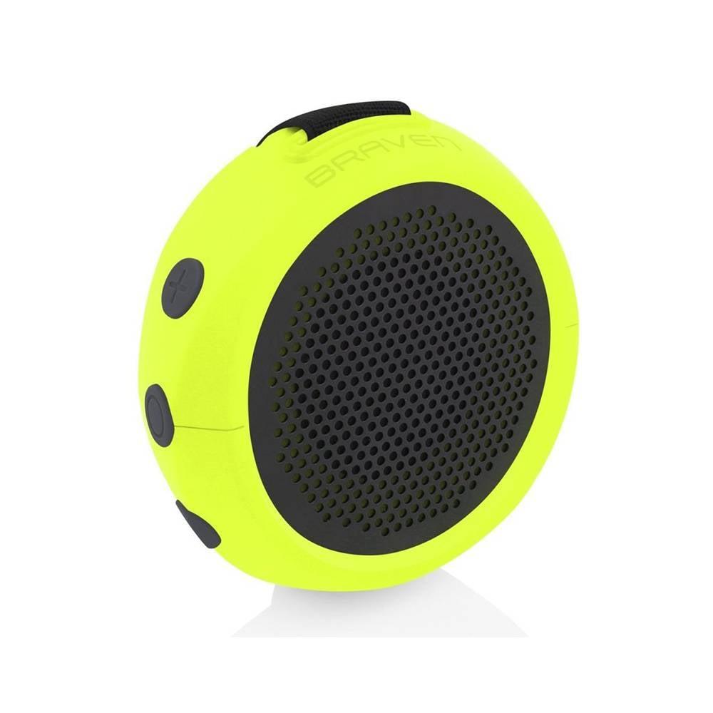 Braven B105XGG 105 Series Portable Waterproof Bluetooth Speaker, Electric Lime