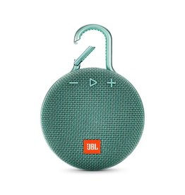 JBL Clip 3 Waterproof Portable Bluetooth Speaker, Teal