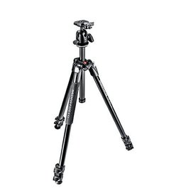 Manfrotto 290 EXTRA Aluminium 3-Section Tripod Kit  with Ball Head