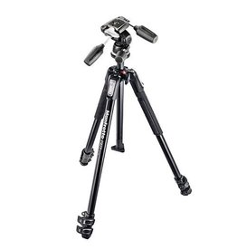 Manfrotto MK190XPRO3, Kit Trépied 3 sections + Rotule, en aluminum