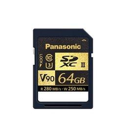 Panasonic 64GB V90 UHS-II SDXC Carte mémoire