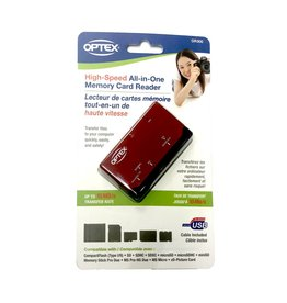 Optex All-In-One High Speed Memory Card Reader