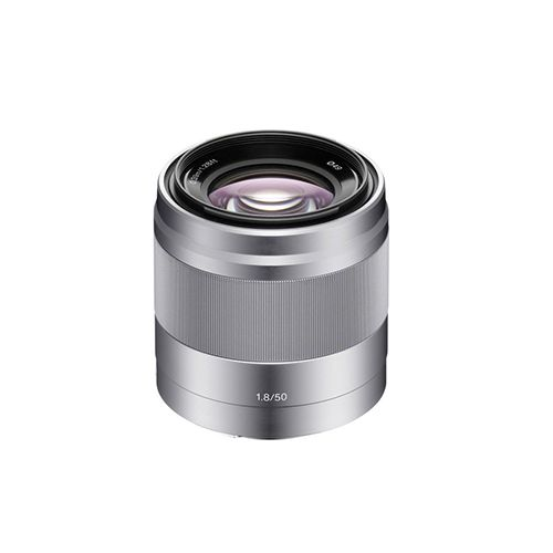 Sony SEL50F18 Lens 50 mm f/1.8 Silver for Sony E-mount