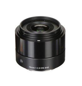 Sigma 19mm F2.8 DN Art objectif noir pour Micro four Thirds