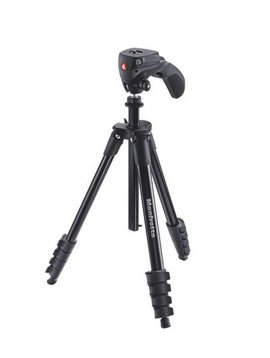 Manfrotto MKCACN-BK Compact tripod Kit - Black