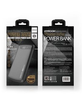 Joyroom D-M153 20000mah powerbank - Blanc