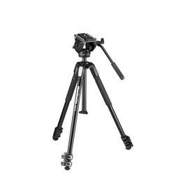 Manfrotto MT190X3 Aluminum Tripod with MVH500AH Fluid head