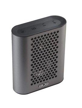 808 Audio portable bluetooth Haut parleur-Gris Metal