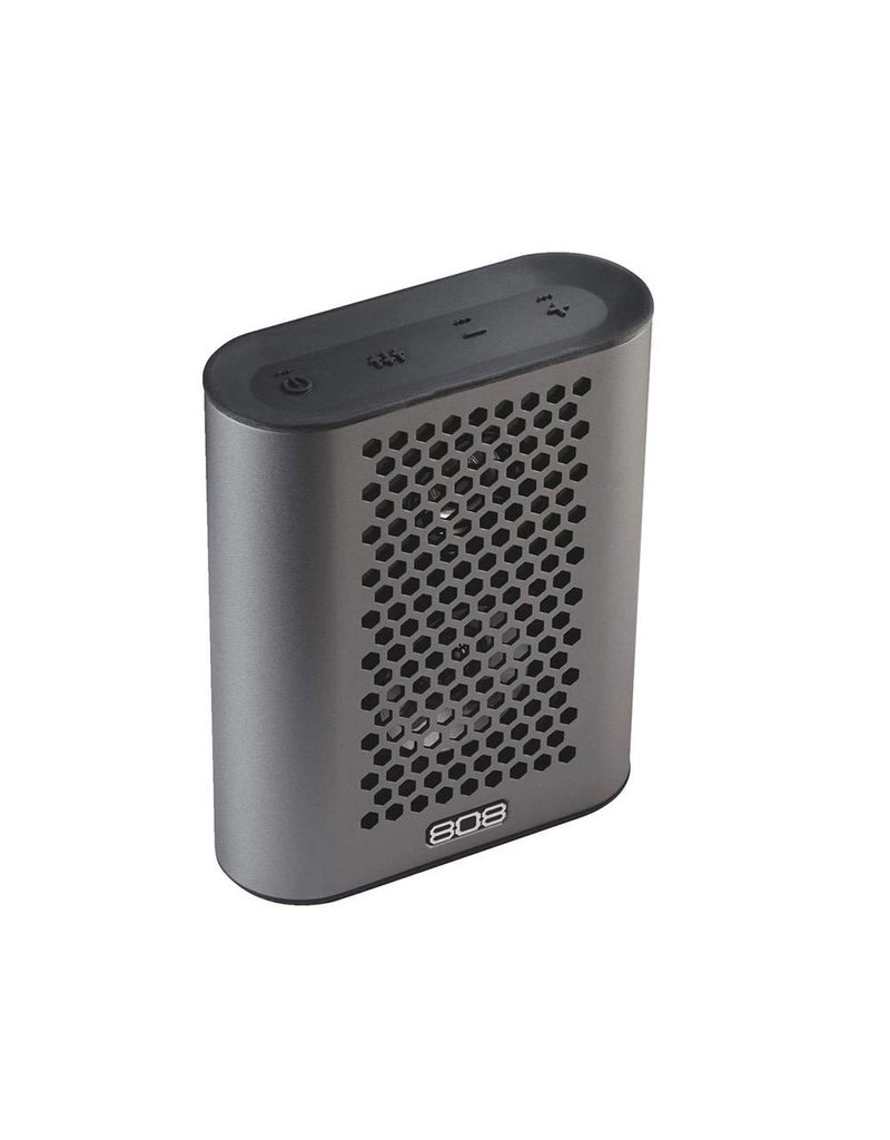 808 Audio portable bluetooth Speakers Grey Metal