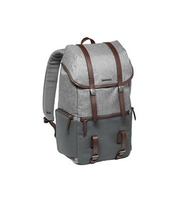 Manfrotto MB LF-WN-BP Windsor camera and laptop backpack for DSLR - grey
