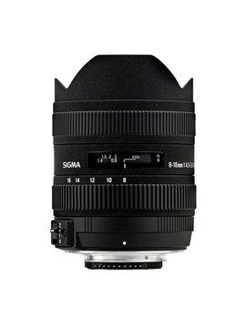 Sigma 8-16mm f/4.5-5.6 DC HSM objectif pour Canon