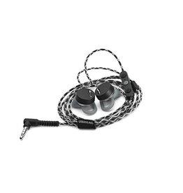 URBANEARS Reimers Écouteurs intra-auriculaires avec contrôle du volume - Noir