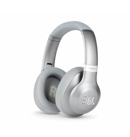 JBL Everest 710 Over-Ear Wireless Bluetooth Headphones - Silver
