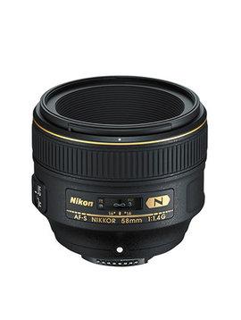 Nikon AF-S FX NIKKOR 58mm f/1.4G Objectif