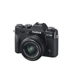 FujiFilm X-T30 Appareil photo sans mirroire  avec XC 15-45mm Objectif kit -Noir