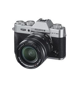 FujiFilm X-T30 Appareil photo sans mirroire  avec XF 18-55mm Objectif  kit-Argent