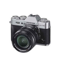 FujiFilm X-T30 Mirrorless digital Camera with XF 18-55mm Lens kit - Silver