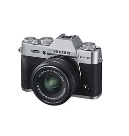 FujiFilm X-T30 Mirrorless digital Camera with XC 15-45mm Lens kit - Silver