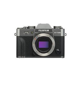 FujiFilm X-T30 Mirrorless digital Camera Body - Charcoal Silver