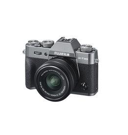 FujiFilm X-T30 Appareil photo sans mirroire  avec XC 15-45mm Objectif kit- Charcoal Argent