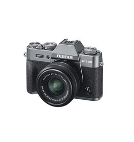 FujiFilm X-T30 Mirrorless digital Camera with XC 15-45mm Lens kit - Charcoal Silver