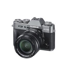 FujiFilm X-T30 Appareil photo sans mirroire  avec XF 18-55mm Objectif  kit- Charcoal Argent