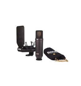 "Rode NT1 kit Microphone cardioïde à condensateur 1"" avec  SMR shock mount"