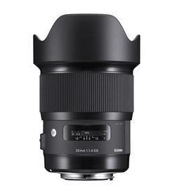 Sigma 20mm F1.4 DG HSM Art Lens For Nikon