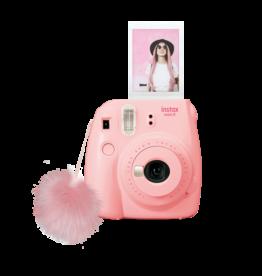 FujiFilm Instax Mini 9 appareil photo instante  avec pompon- coquillage