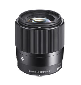 Sigma 30mm f1.4DC DN contemporary objectif pour Micro four thirds