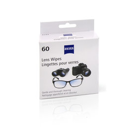 ZEISS Lingettes nettoyantes - 60 Pack