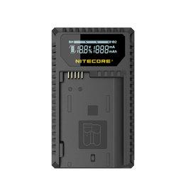Nitecore UNK1 Dual Slot Charger for Nikon EN-EL14, EN-EL14a, and EN-EL15 Batteries
