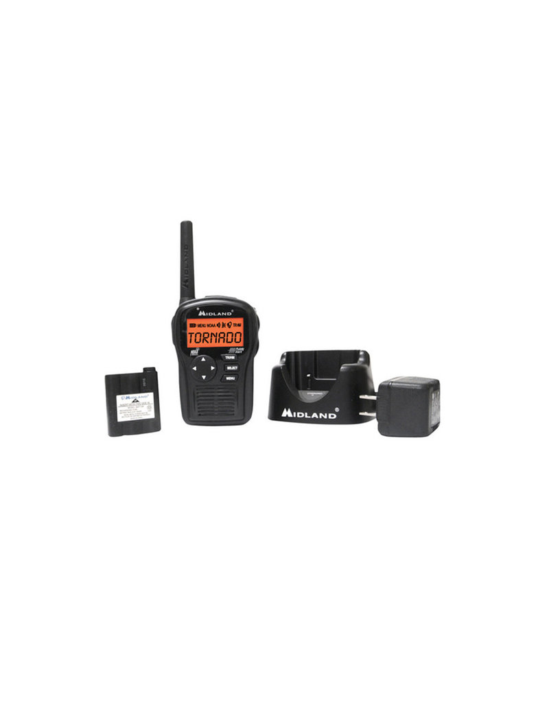 Midland HH54VP2 Portable Emergency Weather Alert Radio