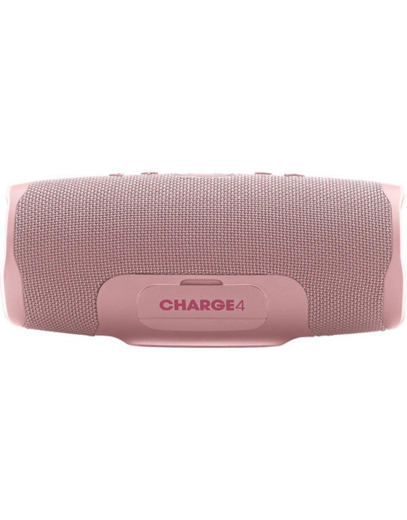 JBL Charge 4 Portable Waterproof Wireless Bluetooth Speaker - Pink
