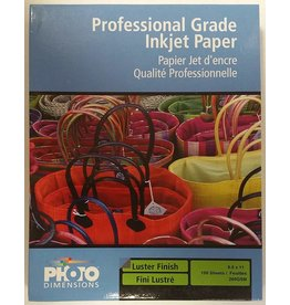 FTCXL85100 Luster Paper 8.5x11 - pack 100