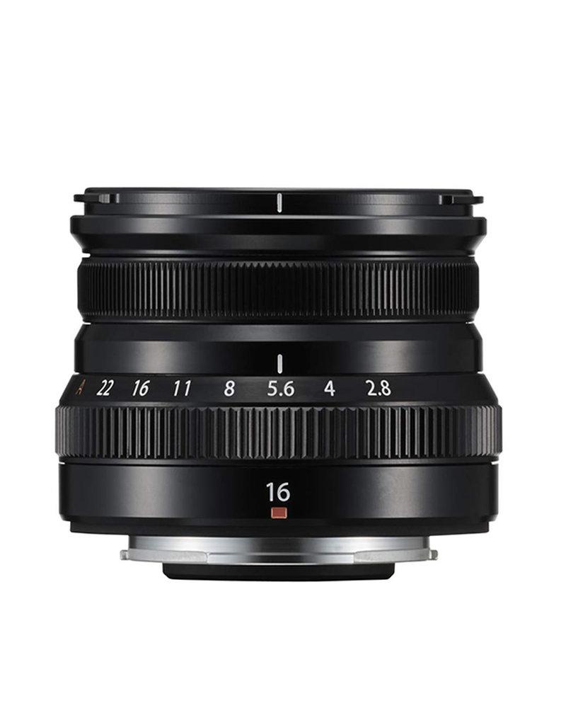 FujiFilm Fujinon XF 16mm F2.8 R WR Prime Lens - Black